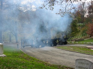 TwentyOne Gun Salute at Arlington