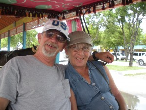 Glen and Cindy on VACATION